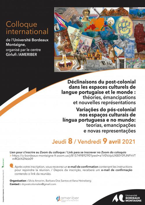 Déclinaisons post-coloniales : Universitéde Bordeaux