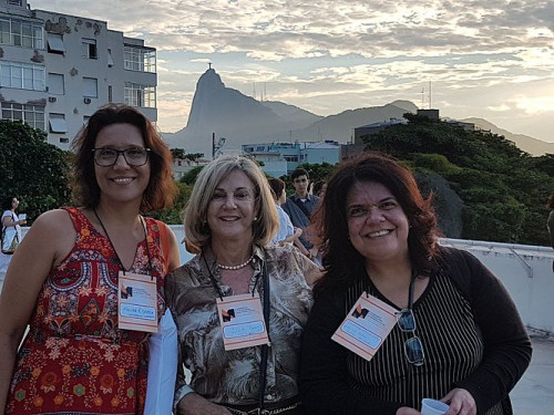 III SEMINÁRIO INTERNACIONAL EM MEMORIA SOCIAL realizado no Rio de Janeiro em maio de 2018 na UNIRIO.