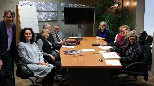 Reunião do comite cientifico da Universite de été des Amériques realizada em novento de 29w6 em Chicoutimi, SAGUENAY, Québec.