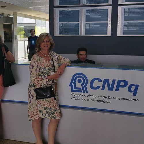 Participando do comitê assessor do CNPq na área de Letras e Linguística em outubro de 2016