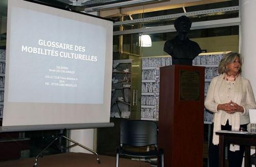 Lançamento Glossaire des mobilités culturelles Biblioteca Nacional do Uruguai dia 29-08-2014
