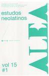 Revista ALEA, estudos neo-latinos da UFRJ (Número especial).