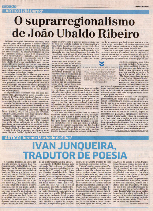 O suprarregionalismo de João Ubaldo Ribeiro